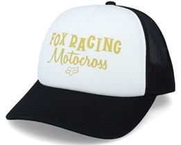 Motocross Inn White/Black Trucker - Fox