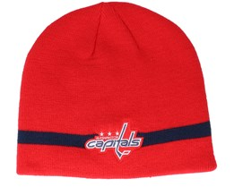 Washington Capitals Coach Red Beanie - Adidas