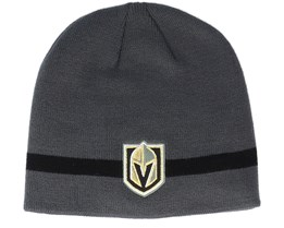 Vegas Golden Knights Vegas Golden Knight Coach Dark Grey Beanie - Adidas