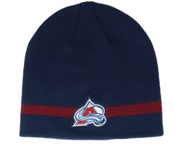 Colorado Avalanche Coach Navy Beanie - Adidas