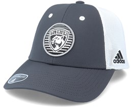 Florida Panthers Mesh Charcoal/White Trucker - Adidas