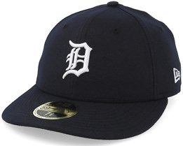 Detroit Tigers 59Fifty Road Low Crown Navy Fitted - New Era
