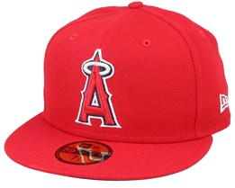 Los Angeles Angels AC Performance Red Fitted - New Era