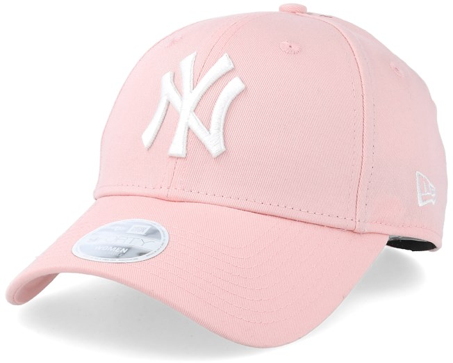 stopcontact online authentiek ongelooflijke prijzen New York Yankees Women League Essential 9Forty Pink/White ...