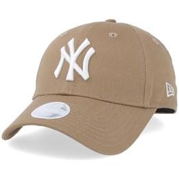 New York Yankees Cap by New Era Black 940 9Forty League Basic White NY logo
