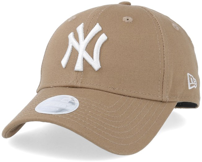 830f17f307f0c New York Yankees Women League Essential 9Forty Khaki White Adjustable - New  Era caps - Hatstoreworld.com