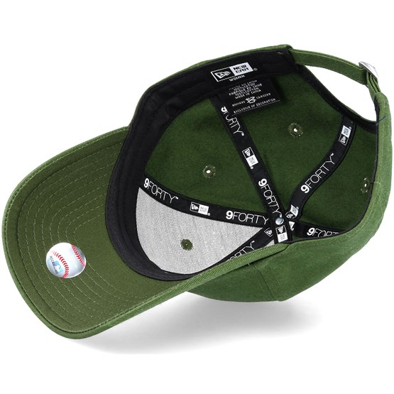 half off 44cb6 378ad Los Angeles Dodgers Women League Essential 9Forty Rifle Green White  Adjustable - New Era caps - Hatstorecanada.com