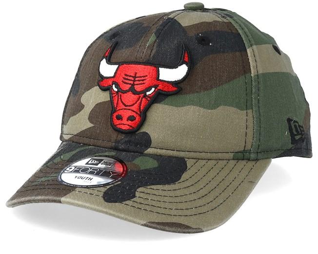 Kids Chicago Bulls 9Forty Camo Adjustable - New Era - Start Gorra - Hatstore 7aa28b18a7e