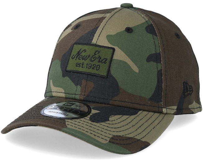 b4068147 Script Patch 9Forty Camo Adjustable - New Era caps - Hatstoreaustralia.com