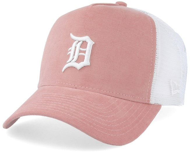 4eae48994 Detroit Tigers Micro Cord A-Frame Pink/White Trucker - New Era caps ...