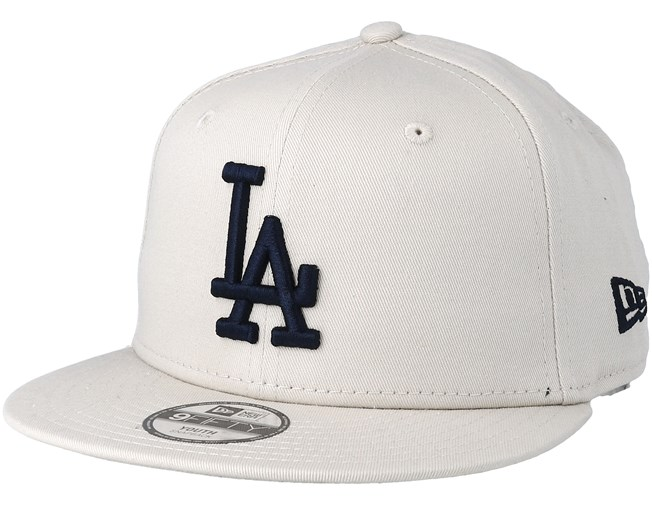 f8c361e3 Kids Los Angeles Dodgers League Essential 9Fifty Stone/Black Snapback - New  Era caps - Hatstoreworld.com