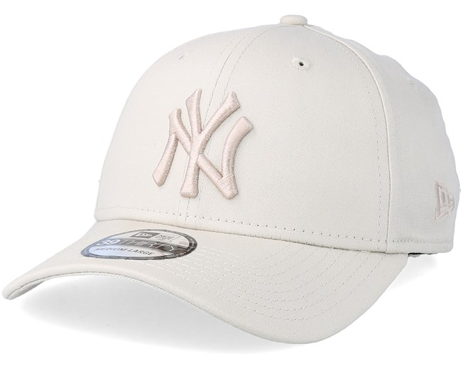 ad052d8674c New York Yankees League Essential 39Thirty Stone White Flexfit - New Era  caps - Hatstoreaustralia.com