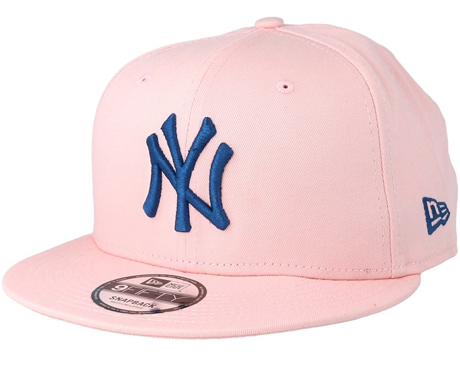 249d0715b51 New York Yankees League Essential 9Fifty Pink Navy Snapback - New Era caps  - Hatstoreworld.com