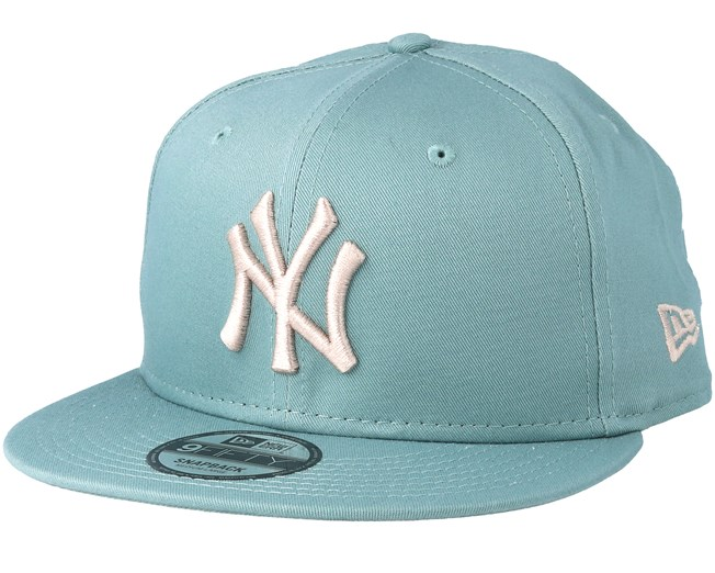 47966911f14 New York Yankees League Essential 9Fifty Mint Stone Snapback - New Era caps  - Hatstorecanada.com