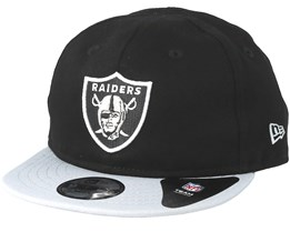 Kids Oakland Raiders Essential 9Fifty Infant Black/Grey Snapback - New Era