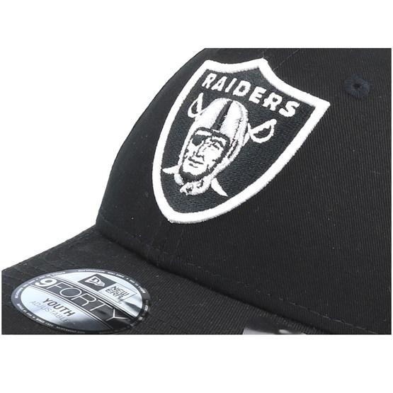 ba52f56ced9 Kids Oakland Raiders Essential 9Forty Black Adjustable - New Era caps -  Hatstoreaustralia.com