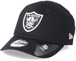 Kids Oakland Raiders Essential 9Forty Infant Black Adjustable - New Era