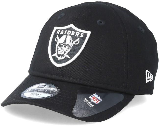 hot sale online 5c9dd 4d1a2 Kids Oakland Raiders Essential 9Forty Infant Black Adjustable - New Era  caps - Hatstoreaustralia.com