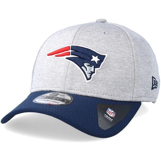 great fit 22021 71c69 New England Patriots Jersey Hex 39Thirty Grey Navy Flexfit - New Era caps -  Hatstorecanada.com