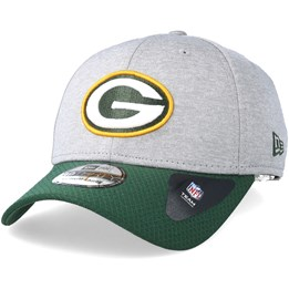 4a66d4ea2 New Era Green Bay Packers Jersey Hex 39Thirty Grey Green Flexfit - New Era  CA  34.39