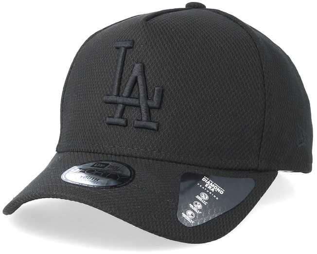 d7a3f342 Kids Los Angeles Dodgers Diamond A-Frame Black/Black Adjustable - New Era  caps - Hatstoreaustralia.com
