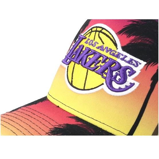 9a5a1197eb3 LA Lakers Coastal Heat Trucker - New Era caps - Hatstoreaustralia.com
