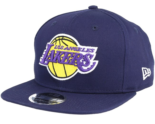 72dfeb0e4ee LA Lakers Coast 2 Coast 9Fifty Navy Snapback - New Era caps -  Hatstoreworld.com