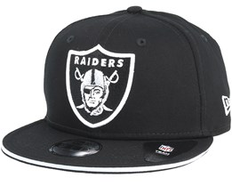 Kids Oakland Raiders Classic Tm Black Snapback - New Era
