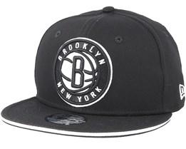 Kids Brooklyn Nets Classic Tm Black Snapback - New Era