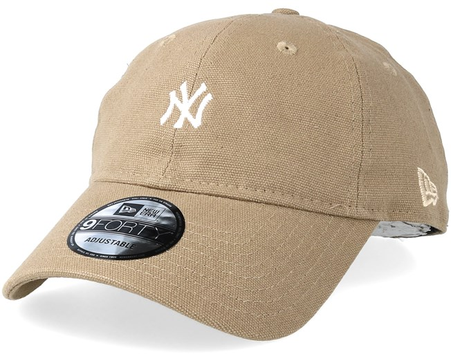 New York Yankees Canvas 9forty Camel Adjustable - New Era caps ... e8b0a2aa268c