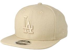 Los Angeles Dodgers Canvas 9Fifty Stone Snapback - New Era
