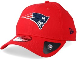 New England Patriots Reverse Colour 9Forty Red Adjustable - New Era