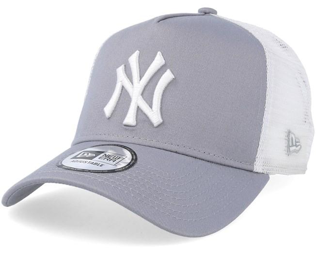 New York Yankees Clean 2 Gray White Trucker - New Era - Start Kšiltovka -  Hatstore.cz 2d4aba8429c