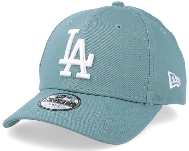 074e4cb765e Kids Los Angeles Dodgers League Essential 9Forty Mint White ...