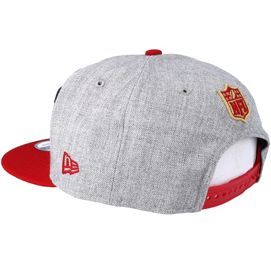 San Francisco 49ers 2018 NFL Draft On-Stage Grey Red Snapback - New Era  caps - Hatstoreaustralia.com b4693bd112f9
