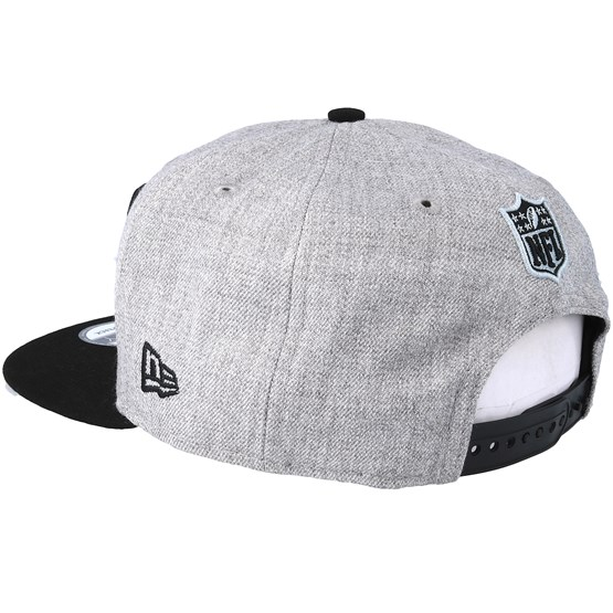 new product 69580 89a0d Oakland Raiders 2018 NFL Draft On-Stage Grey Black Snapback - New Era caps    Hatstore.co.uk