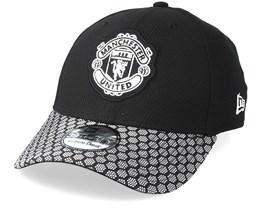 Manchester United Stretch WV Vize 39Thirty Black Flexfit - New Era