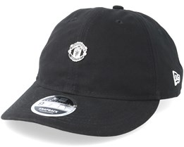80354404e Manchester United Mini Metal Badge 9Fifty Low Profile Black Adjustable -  New Era