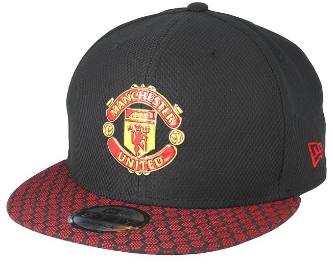 check out 30a3e c0c14 Manchester United Hex Weave Vize 9Fifty Black Snapback - New Era caps -  Hatstoreaustralia.com