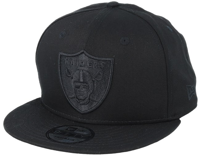 38f477350d1 Oakland Raiders 9Fifty Black Black Snapback - New Era caps -  Hatstoreaustralia.com