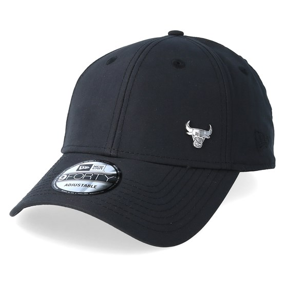 Chicago Bulls 9Forty Flawless Black Adjustable - New Era caps -  Hatstoreaustralia.com 5226bd3f3cdb