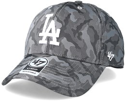 Los Angeles Dodgers Smokelin Mvp Grey Camo Adjustable - 47 Brand