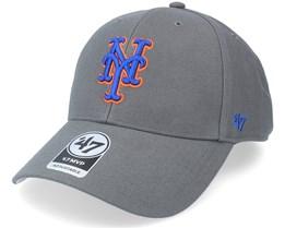 New York Mets Mvp Charcoal Adjustable - 47 Brand