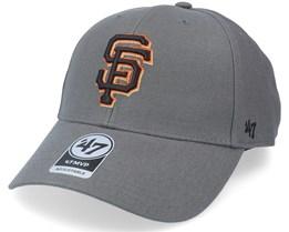 San Francisco Giants Mvp Charcoal Adjustable - 47 Brand