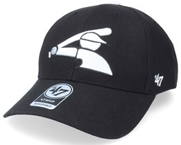 Chicago White Sox Mvp Black Adjustable - 47 Brand