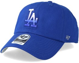 Los Angeles Dodgers Falton Clean Up Royal Adjustable - 47 Brand 3f2a6f0f614