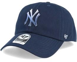 New York Yankees Falton Clean Up Navy Adjustable - 47 Brand