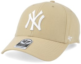 New York Yankees Mvp Light Gold Adjustable - 47 Brand
