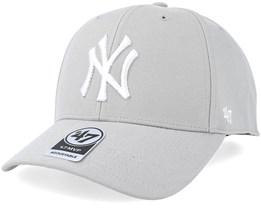 New York Yankees Mvp Steel Grey Adjustable - 47 Brand