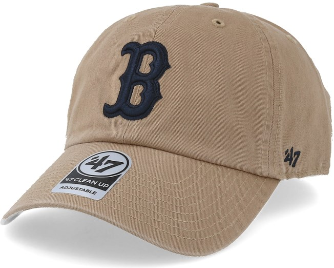 Boston Red Sox Clean Up Khkaki Adjustable - 47 Brand - Start Gorra -  Hatstore c4ec3513137